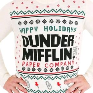 Other - The Office Dunder Mifflin Ugly Christmas Sweater L